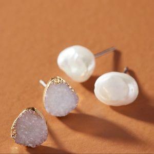 Anthropologie earring set